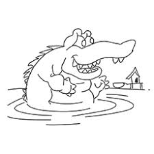 Small Picture Top 10 Free Printable Crocodile Coloring Pages Online