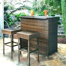 Outdoor Bar Stools And Tables Sets Table