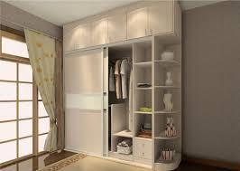 bedroom wardrobe interior shelves  design ideas