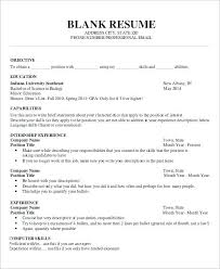 Resume Template Word Adorable Resume Templates Word Doc Best Sample Word Document Resume Template
