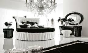 black white bedroom furniture interior design round bed bedroom furniture interior designs pictures
