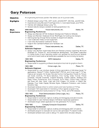 Telecommunication Technician Resume Template Inspirational Central