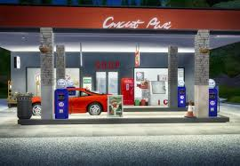 Gas Pump Vending Machine Unique Sims 48 Designs Cyclonesue's Gas Station Stuff And Outdoor Ice