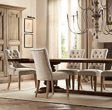 martine tufted fabric armchair intended for restoration hardware dining room chairs plan 13