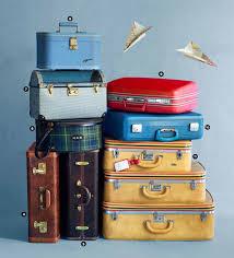 vintage luggage. brian woodcock vintage luggage e