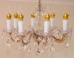 file chandelier with led lamps jpg