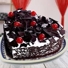 Heart Shape Black Forest Cake Winni