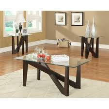 Contemporary Coffee Table Sets | Wayfair