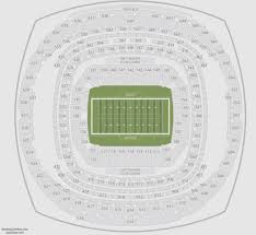 Superdome Seating Chart With Row Numbers Mercedes Benz Stadium Seating Chart All You Need Infos