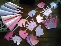 princess unicorn themed birthday