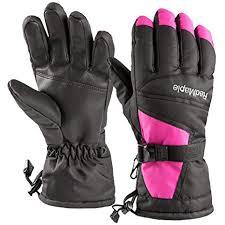 RedMaple Waterproof <b>Ski</b> Gloves for Men <b>and</b> Women - Winter ...