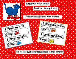 Kindergarten Crayons Pocket Chart Pete