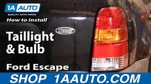 Brake Light Bulb For 2005 Ford Escape How To Replace Tail Light 01 07 Ford Escape