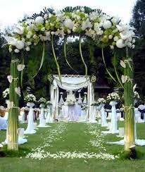wedding decor with fl decoration