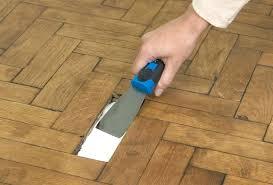 how to repair vinyl flooring plank scratches fix loose floor tiles