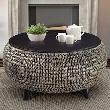 precious round coffee tables world menagerie dimitri round coffee table