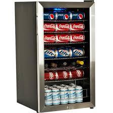 glass front mini fridge. Perfect Fridge EdgeStar 103 Can  5 Bottle Stainless Steel Home Beverage Center In Glass Front Mini Fridge