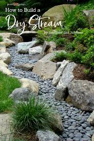 catch runoff how to build a dry stream