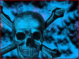 blue skull backgrounds group 66
