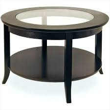 large round side table