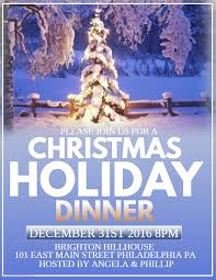 christmas dinner poster christmas holiday dinner poster template christmas poster