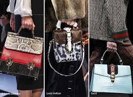 gucci bags fall 2017. fall/ winter 2016-2017 handbag trends: animal/ reptile skin bags gucci fall 2017