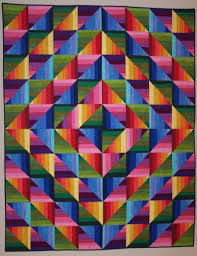 The Dimples Rainbow Strata Quilt Kit is now available! (9/8/11 ... & Rainbow quilt Adamdwight.com