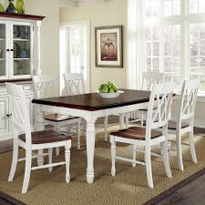 Cottage Dining Room Table White Ebay Dining Room Table And Chairs Sneakergreet Com With