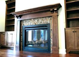 craftsman style fireplace mantel built in wood surround ideas design ma handmade plans