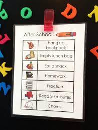 After School Job Chart Free Printable Mum Stuff
