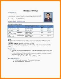 15 Cv Format In Pdf Standard Resume Format Pdf Resume Example