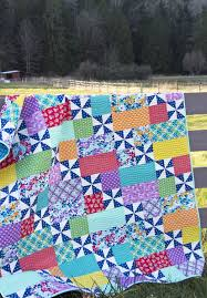 Pinwheels Dance Across This Versatile Quilt - Quilting Digest & Playful 2 Quilt Pattern Adamdwight.com