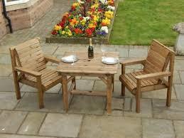 wooden garden furniture patio set 1 x