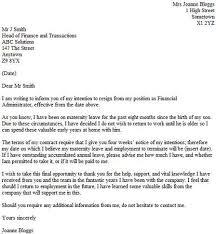 After Maternity Leave Resign Letter Resignation Letter