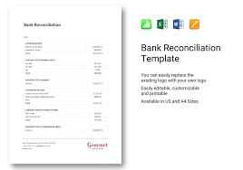 Bank Reconciliation Template Bank Reconciliation Template In Word Apple Pages Excel