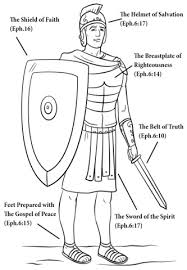 Armor Of God Coloring Pages Luxury Armor God Coloring Page Free