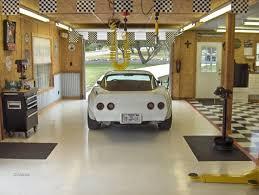 corrugated metal in garage walls