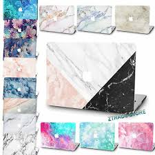 Rubberized Laptop <b>Marble Printed Hard</b> Case cover For Macbook ...