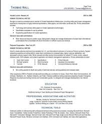 Technical Writer Resume Template Resume Template Rare Technicalr Examples Writing Samples For 45