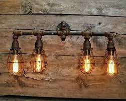 rustic bathroom lighting. Rustic Bathroom Vanity Lights New Lighting For Elegant Best Industrial
