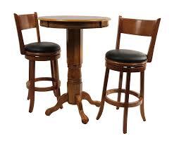 Fruitwood 3 Piece Pub Table Set
