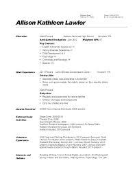 Basic Skills For Resume Skills Of A Teacher Resume First Year Teacher Resume Elementary 81