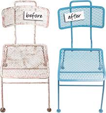 Refinish metal objects with powder coating typical cost for a garden chair 40 85 domino com