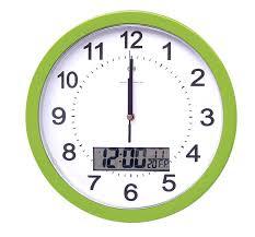 large office clocks. Office Wall Clock Large Decor Digital Date Dual Time For Clocks Large Office Clocks