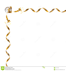 gold ribbon border golden ribbon christmas frame stock photo image of gold holiday