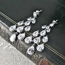classic chandelier earrings gold