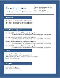 Gallery Of Cv Format In Word Cv Example Resume Template Word Doc