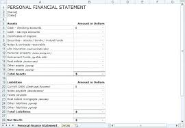 Sample Financial Reports Gorgeous Sample Financial Statement 44 Documents In Word Template For Personal