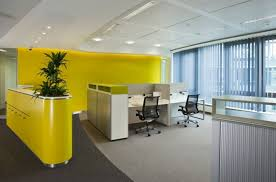 Yellow Office Office Tour Cisco Systems Stuttgart Offices System