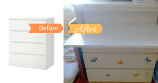 a genius way to add a pull out desk to